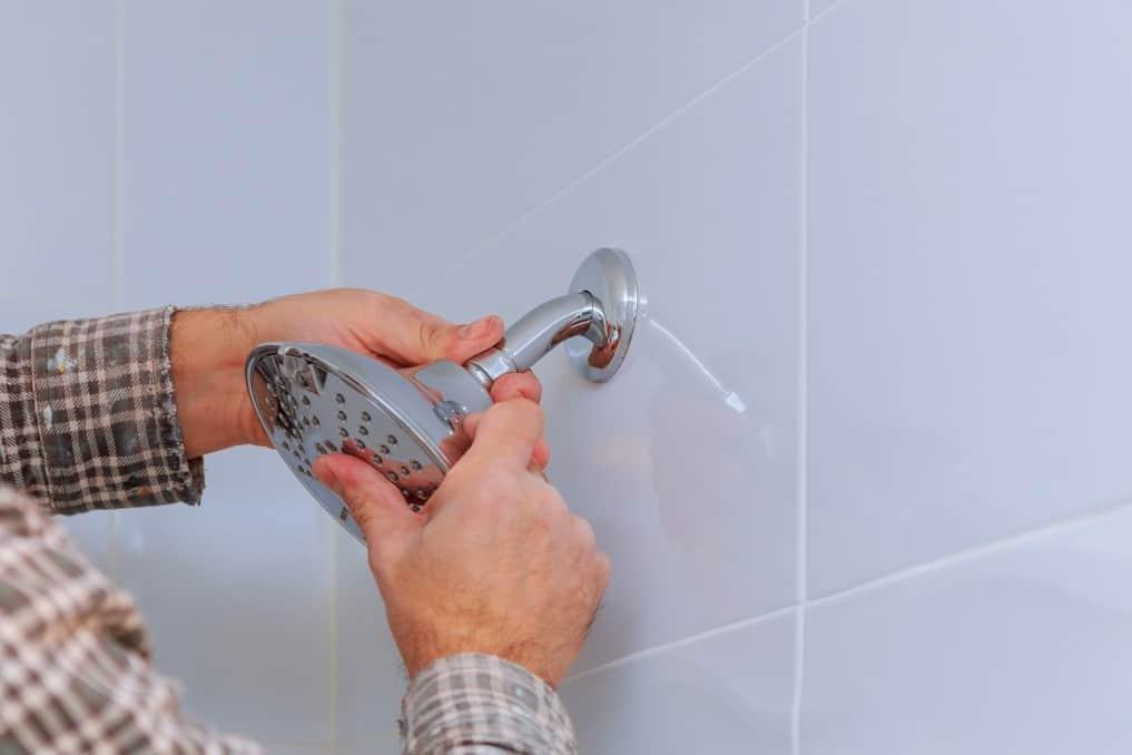 Attaching a shower head